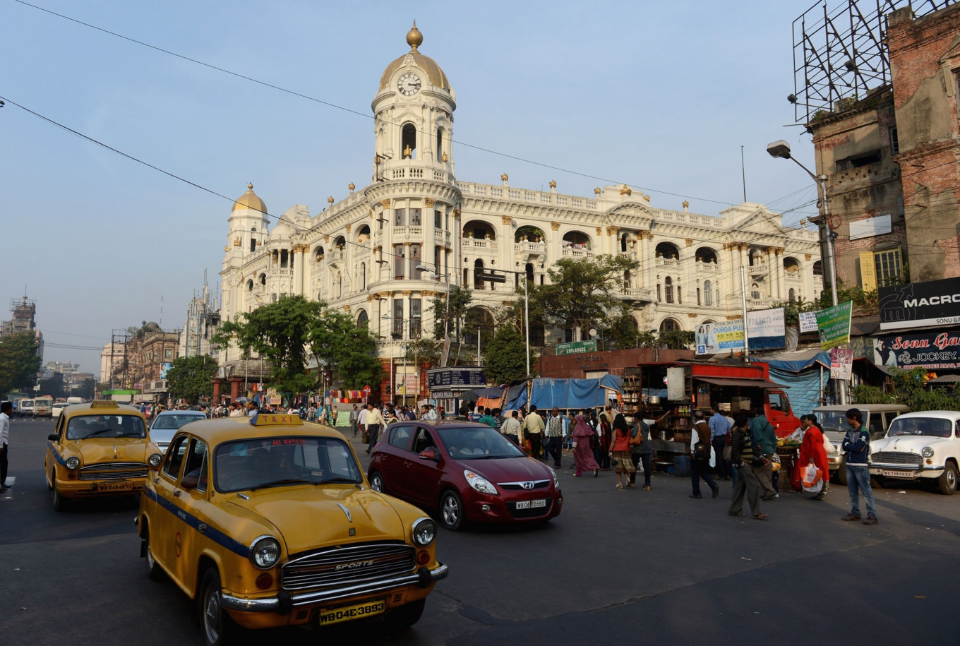 Forget the Taj Mahal and pink Jaipur, take me to the chaos of Kolkata
