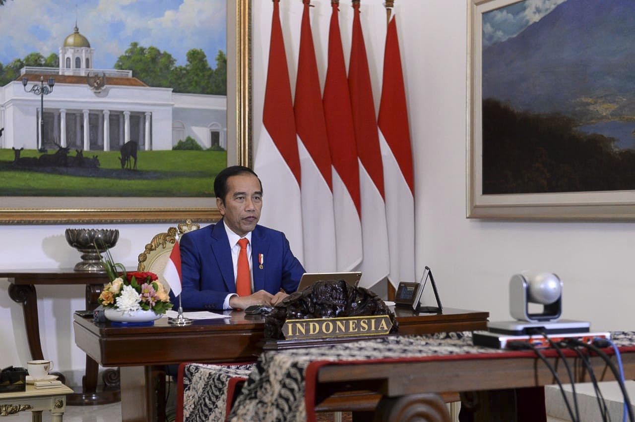 COVID-19: Jokowi calls on NAM nations to boost solidarity in battle against 'mutual enemy'