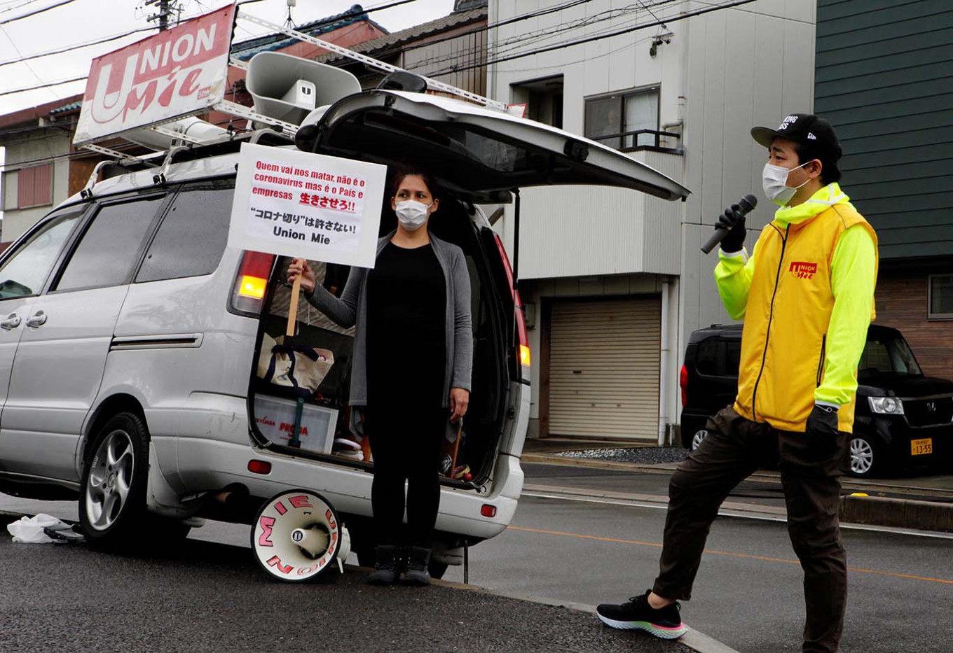 Foreign workers feel the pain of 'corona job cuts' in Japan