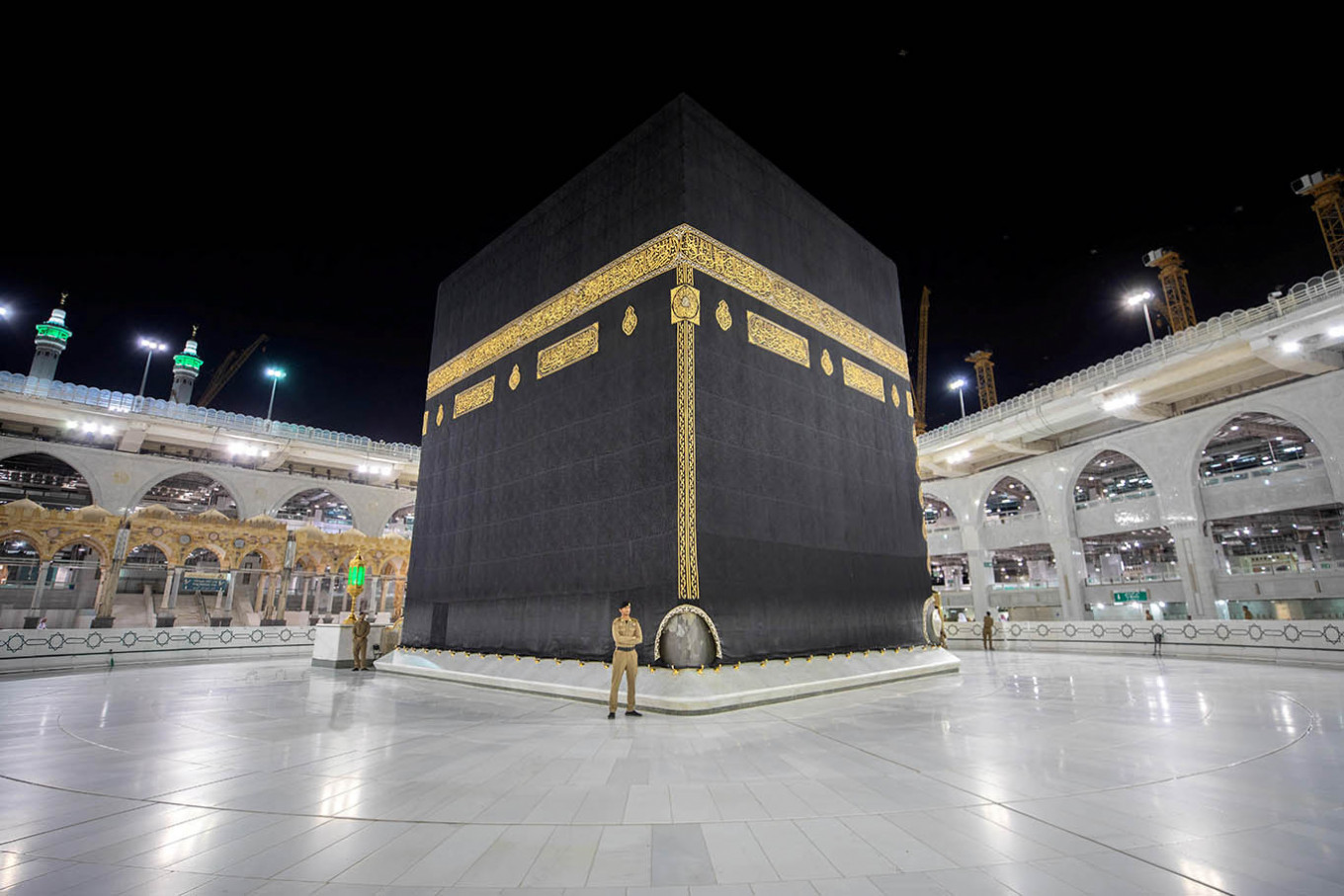 Curtailed haj compounds Saudi economic woes