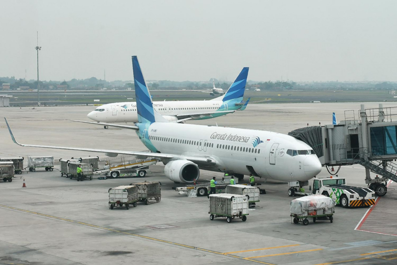 Garuda to require entry permits from Jakarta-bound passengers