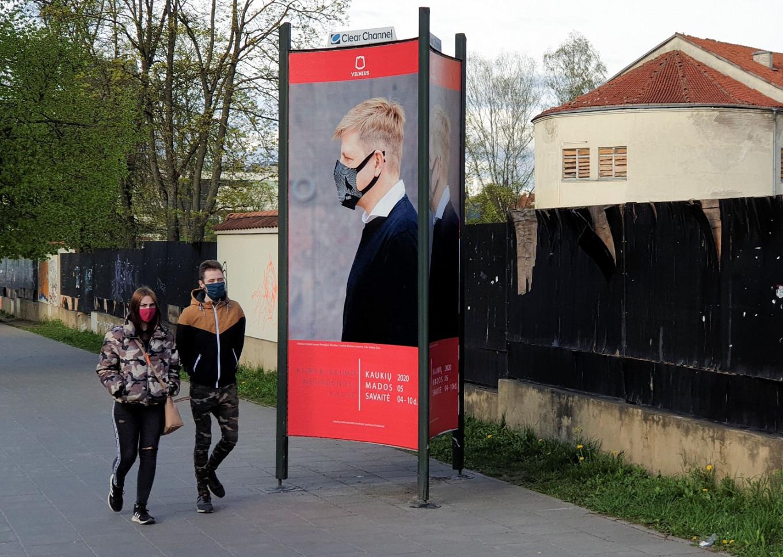 Lithuanian capital holds 'Mask Fashion Week' amid coronavirus pandemic