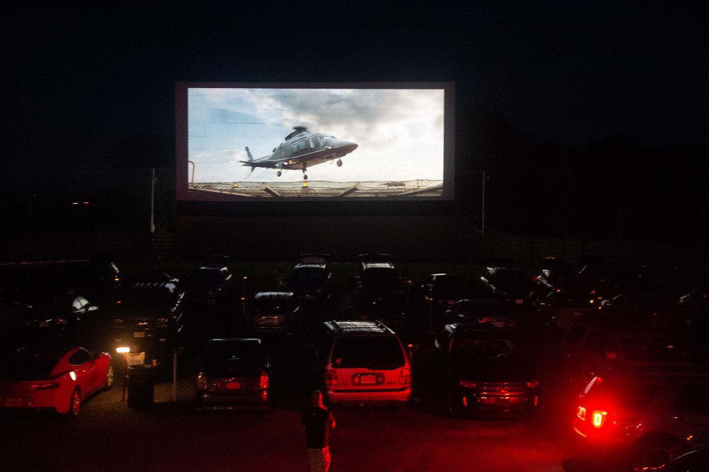 Drive-in cinema summer tour set in US