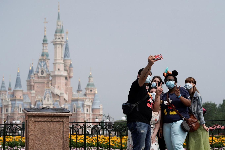Shanghai Disneyland re-opens after three-month closure due to coronavirus