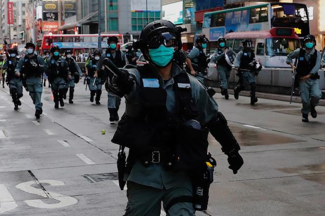 Hong Kong administration responds