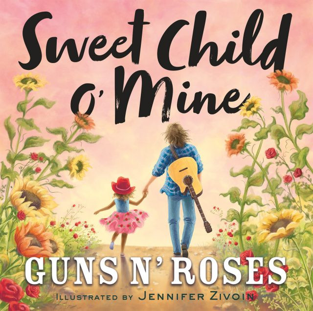 The book's title is taken from the band's hit 'Sweet Child O' Mine' from their 1987 debut album, 'Appetite for Destruction'.