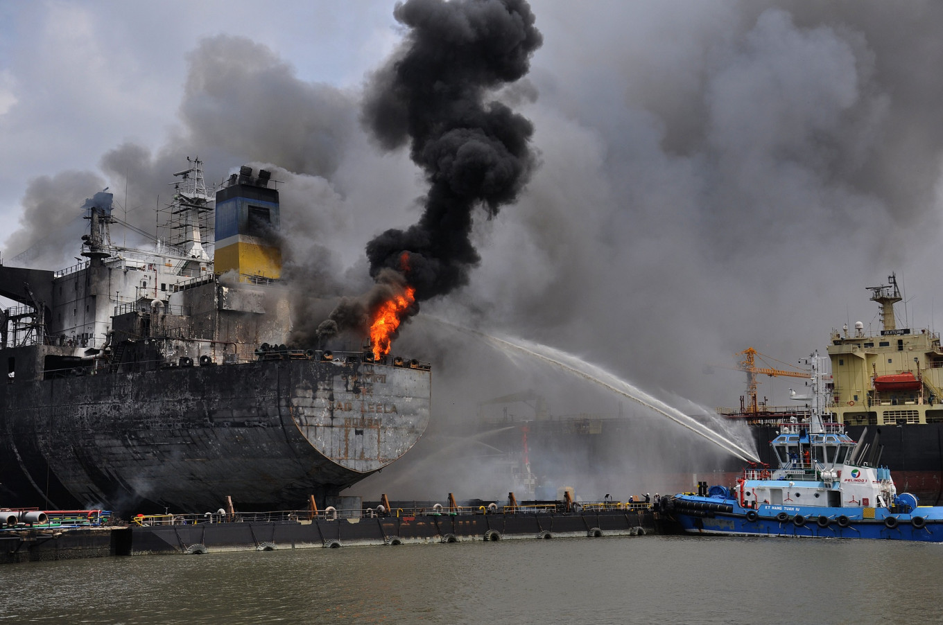 Seven victims of oil tanker fire in North Sumatra identified