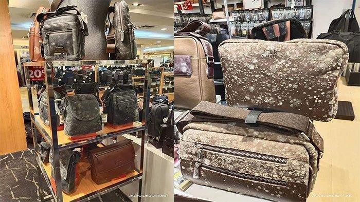 Mold found growing on leather products in Malaysian mall after two months' closure