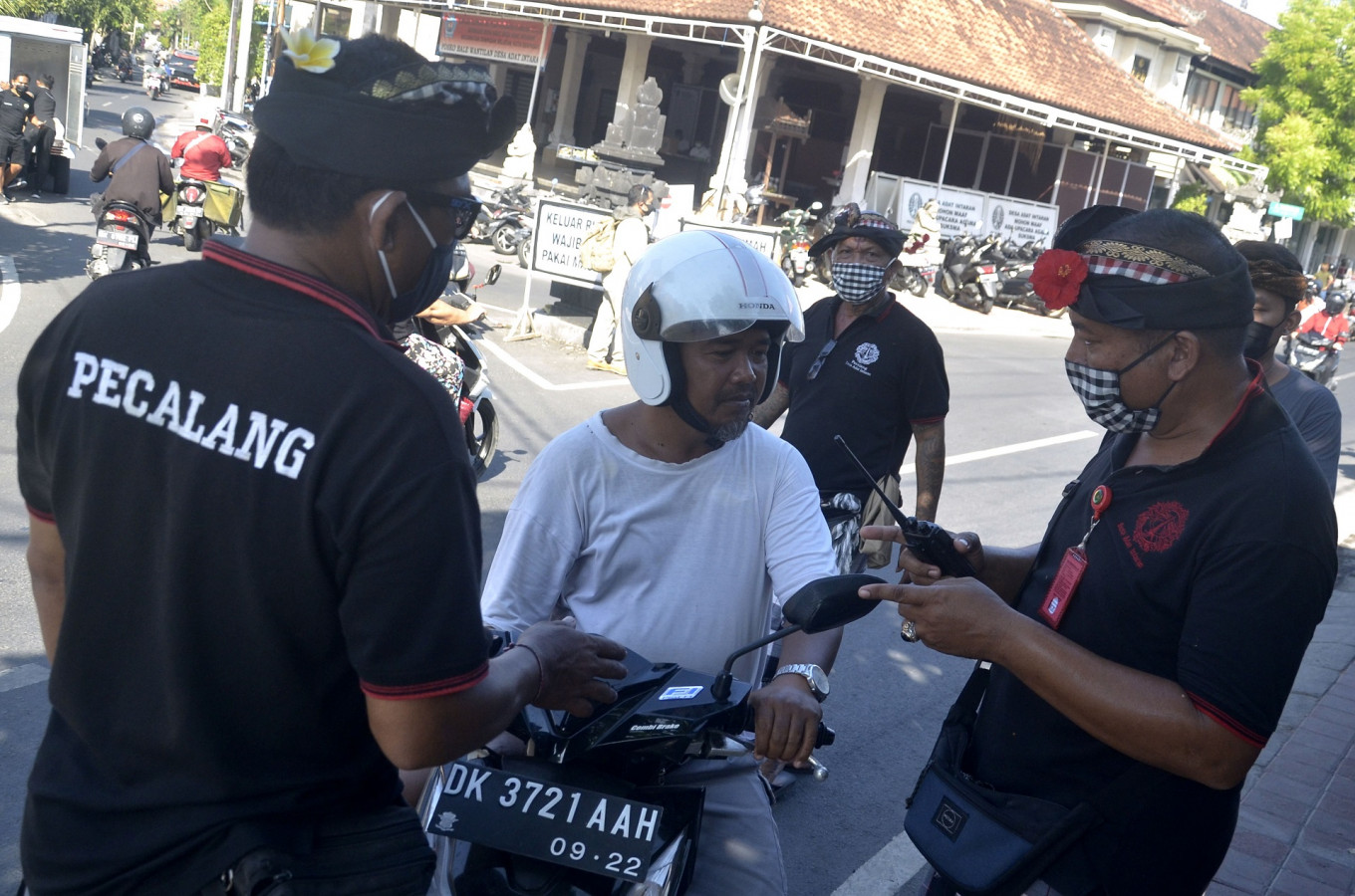 Bali fights virus same way it attracts tourists – with local customs