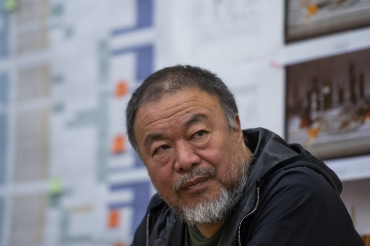 Ai Weiwei to release book of first-hand stories from refugees