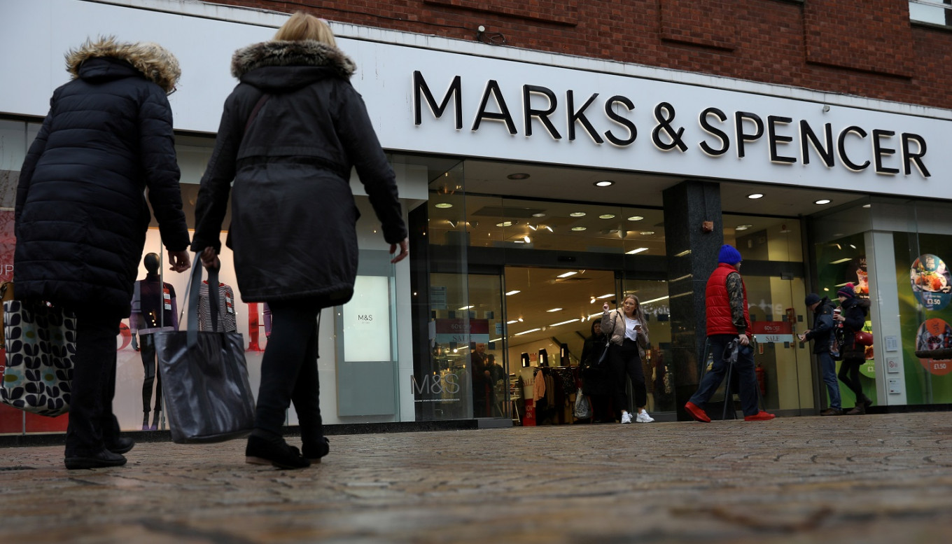 Britain's M&S ties up with health service for huge clothing sale