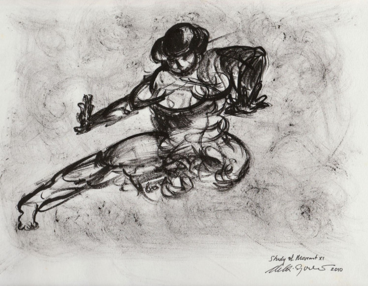 'Study of Movement' by Melati Suryodarmo