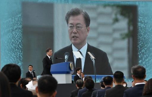 South Korea's Moon honors Gwangju Uprising victims