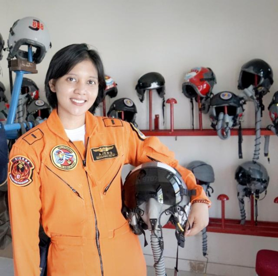 Indonesia Air Force gets first female fighter pilot