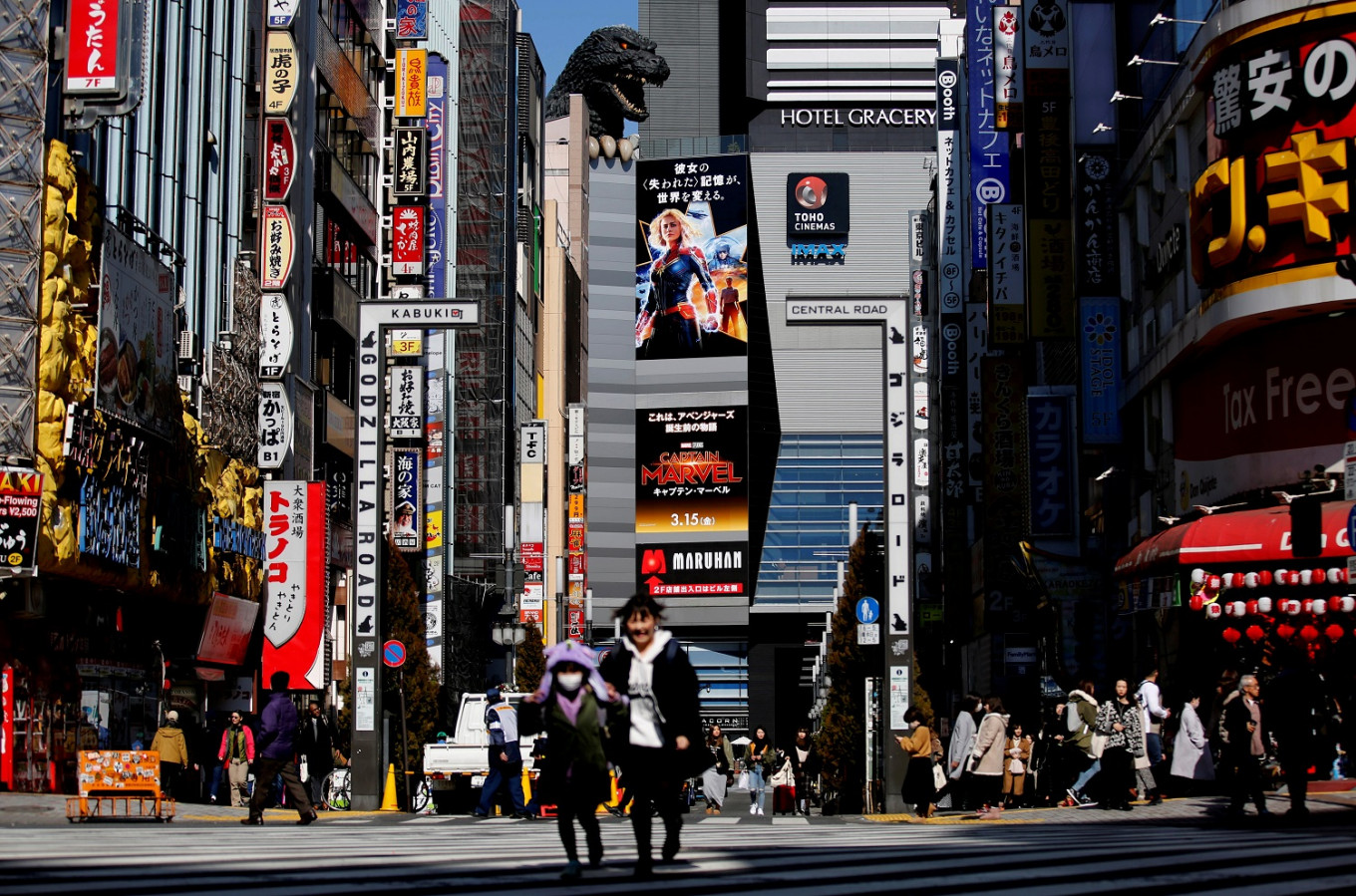 At the movies: 'Ben Hur' and 'Wizard of Oz' as Japan reopens