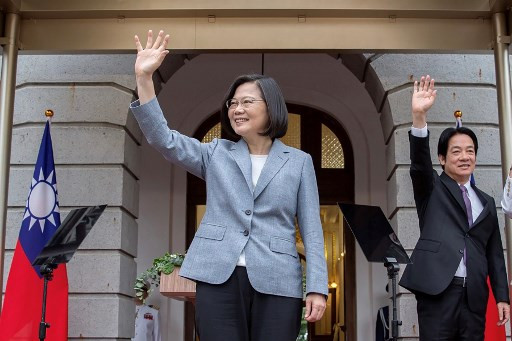 China says Pompeo congratulating Taiwan president 'very dangerous'