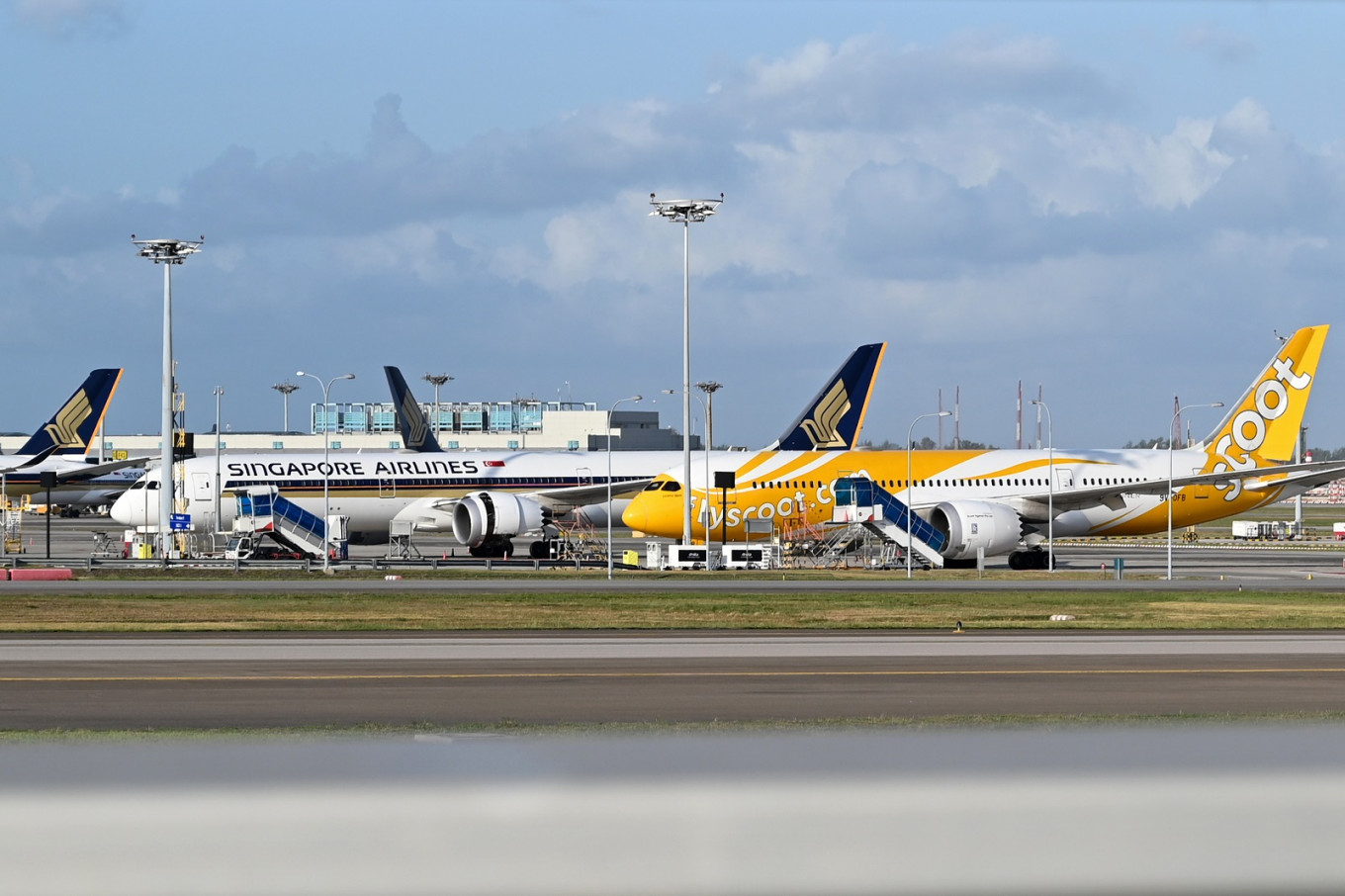 Planes grounded by COVID-19 kept in tip-top shape at Changi