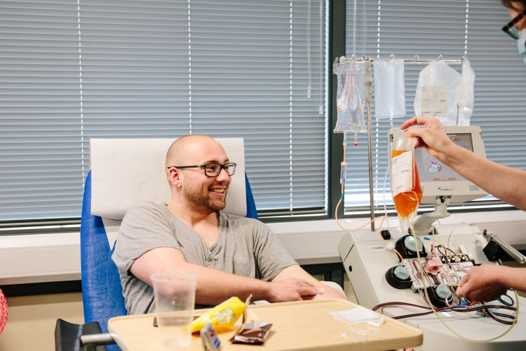 Donated plasma benefits COVID-19 patients in small US study