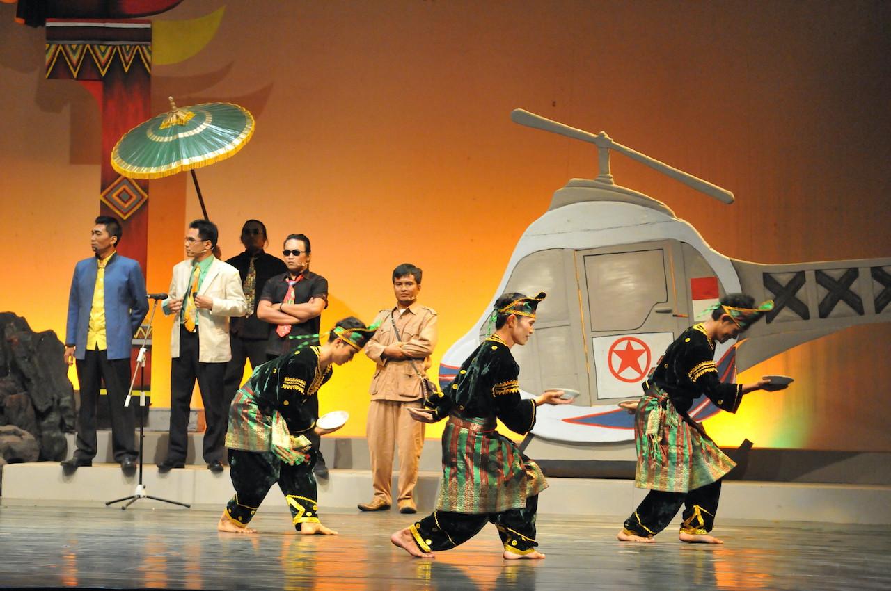 'Maling Kondang': Lighthearted parody of Minang folktale