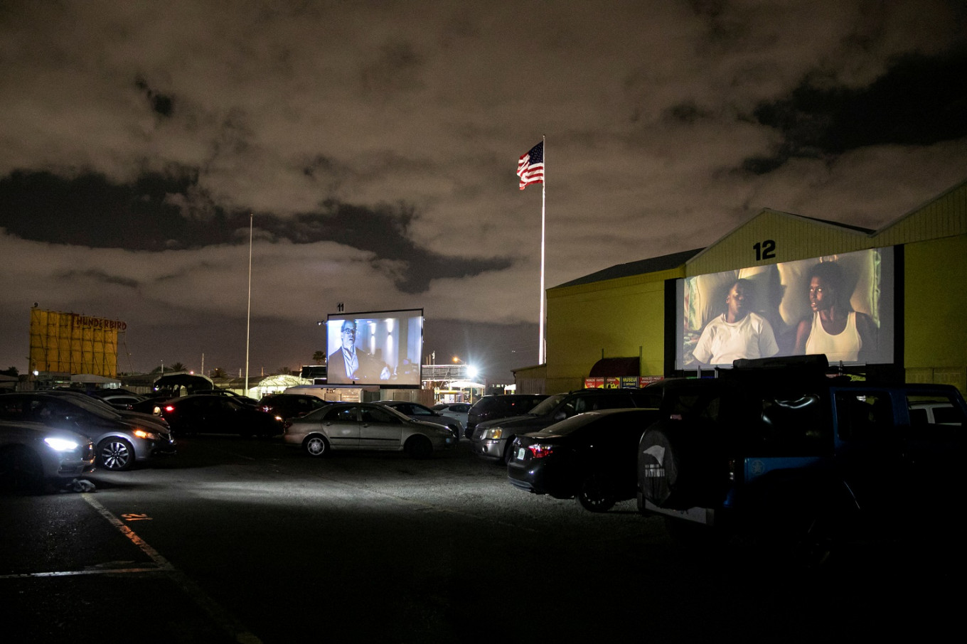 The drive-in movie stages a comeback in US in coronavirus era