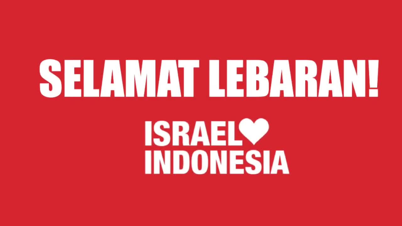 Israelis wish Indonesian Muslims a happy Idul Fitri as part of online campaign