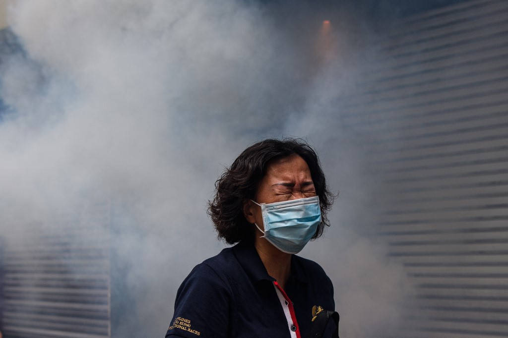China official in Hong Kong says some protest acts