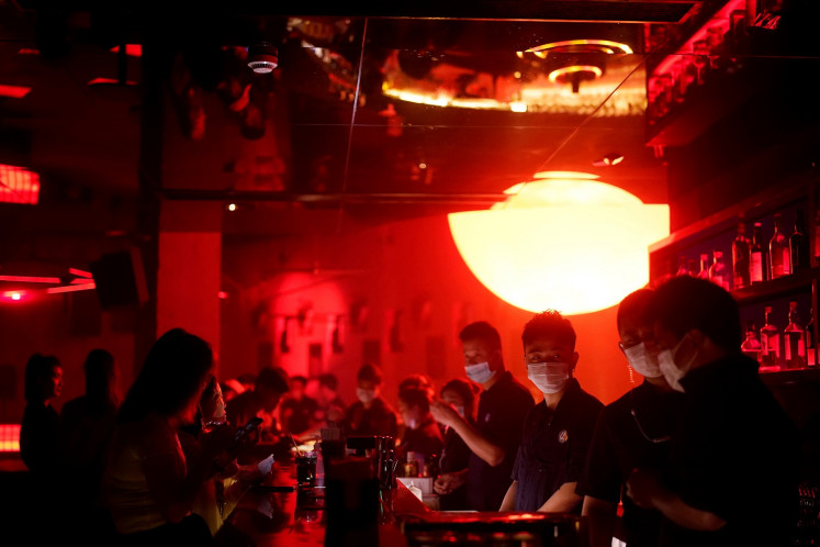 Dancing with disinfectant: China's nightclubs back in the groove
