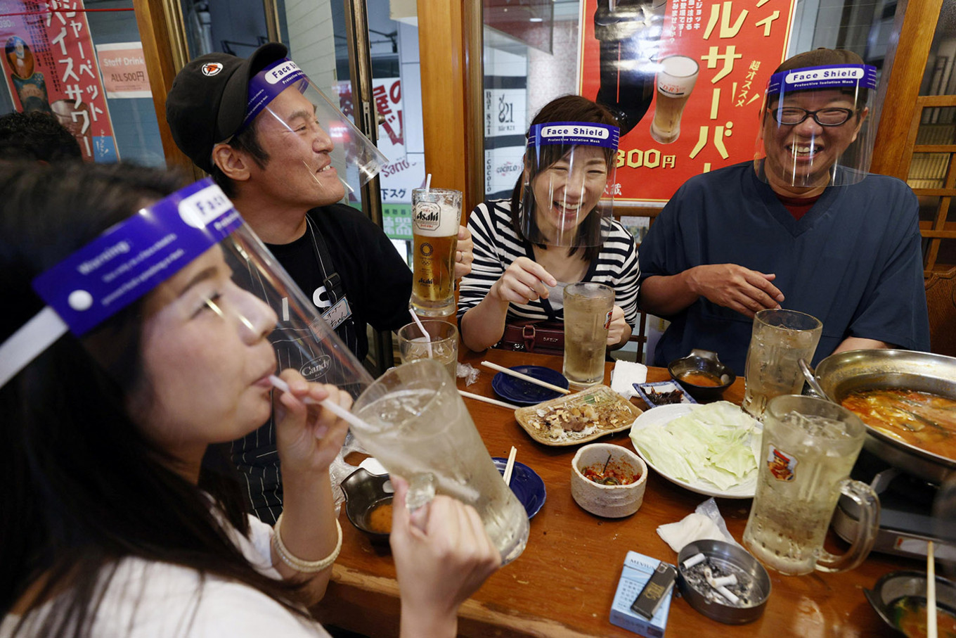 Osaka to ask citizens to avoid drinking in groups of 5 or more