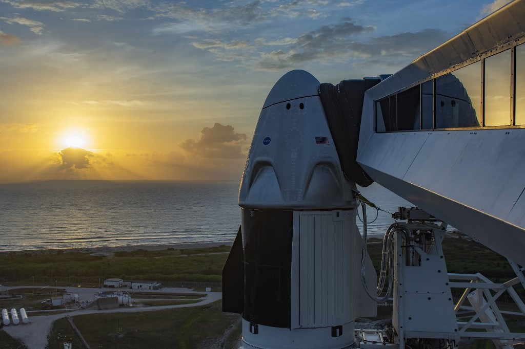 SpaceX's moment of triumph arrives as astronauts ready for US launch