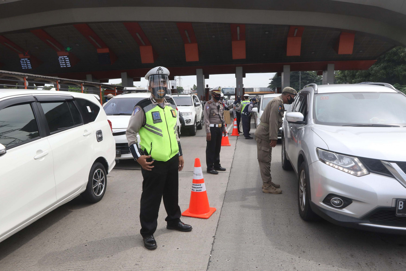 This year's Idul Fitri traffic accidents fall by 31 percent