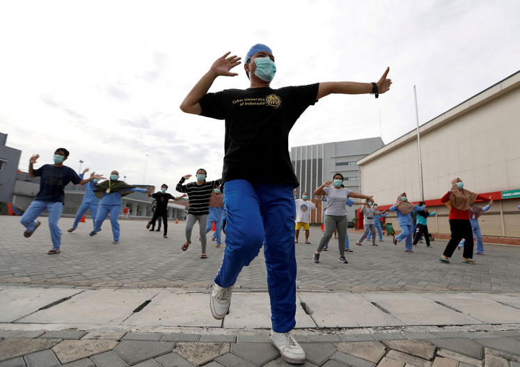 'Exercise helps me to reduce stress': Pandemic sparks interest in home workouts