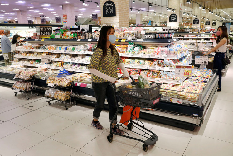 Japan household spending drops 11.1 percent in April