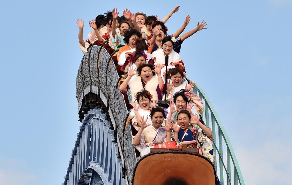 No screams please: Japanese funfairs prepare for virus era
