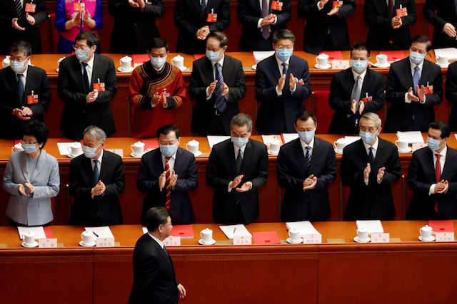 China's parliament backs controversial Hong Kong security law