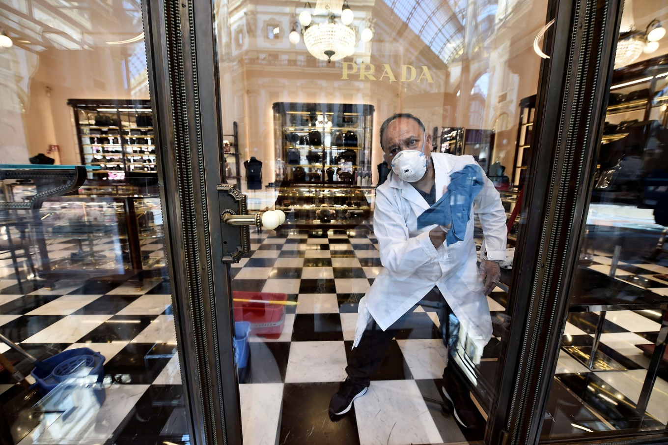 Without tourists, Europe's luxury shops struggle to reopen in style