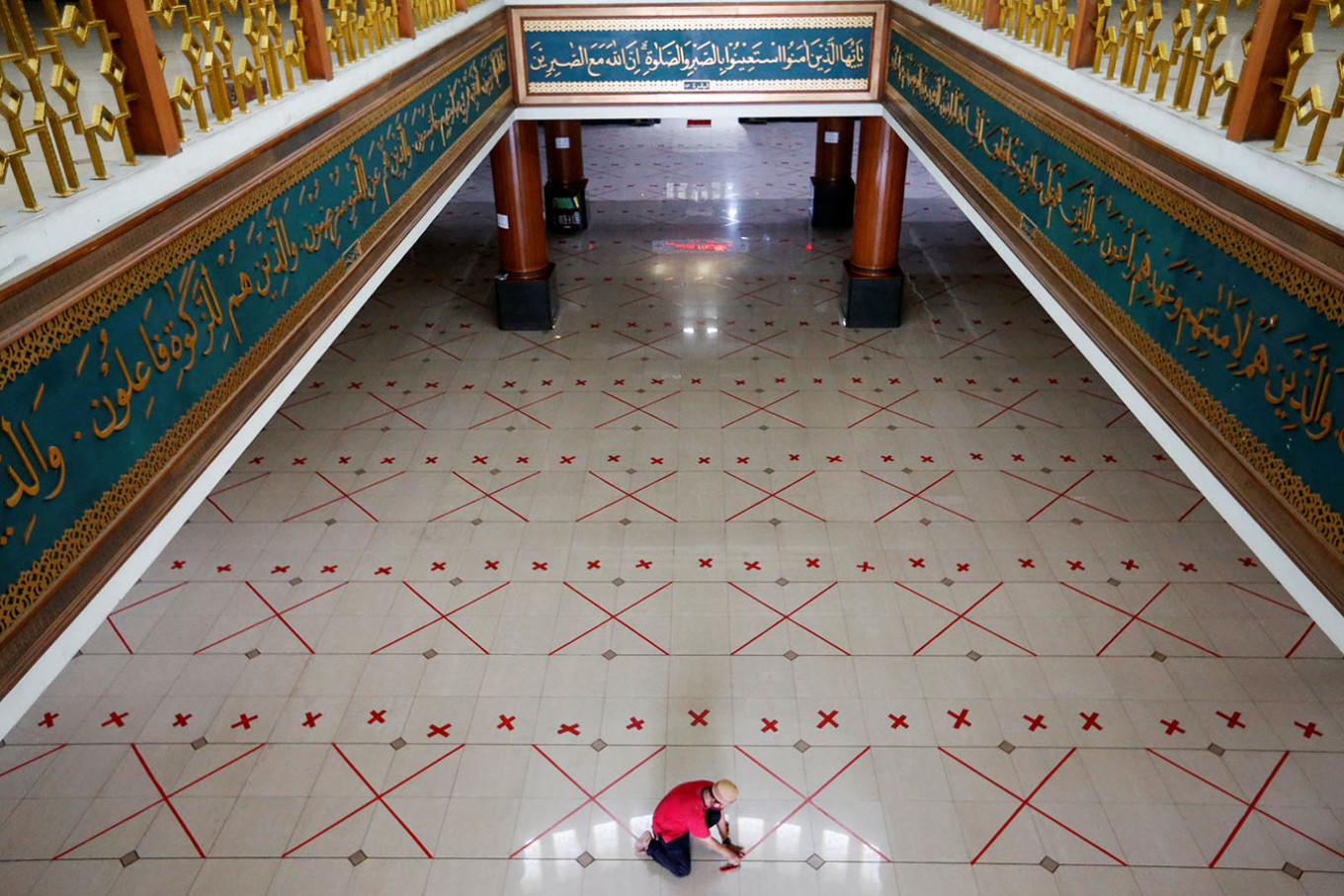 Muhammadiyah allows mosques to hold mass Friday prayers with strict health protocols