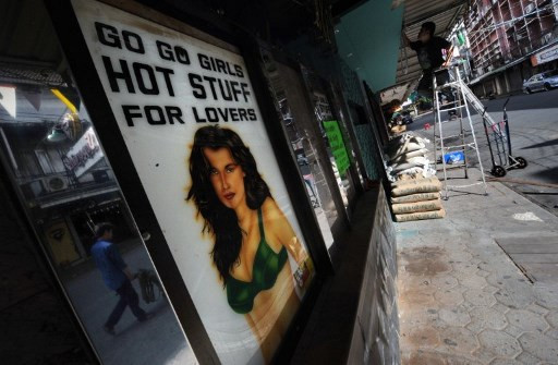 Go-go bars gone as coronavirus hits Bangkok's sex district