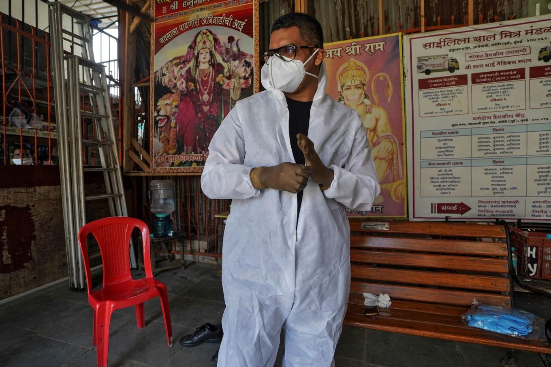 Mumbai DJ swaps deck for doctor's scrubs to fight coronavirus