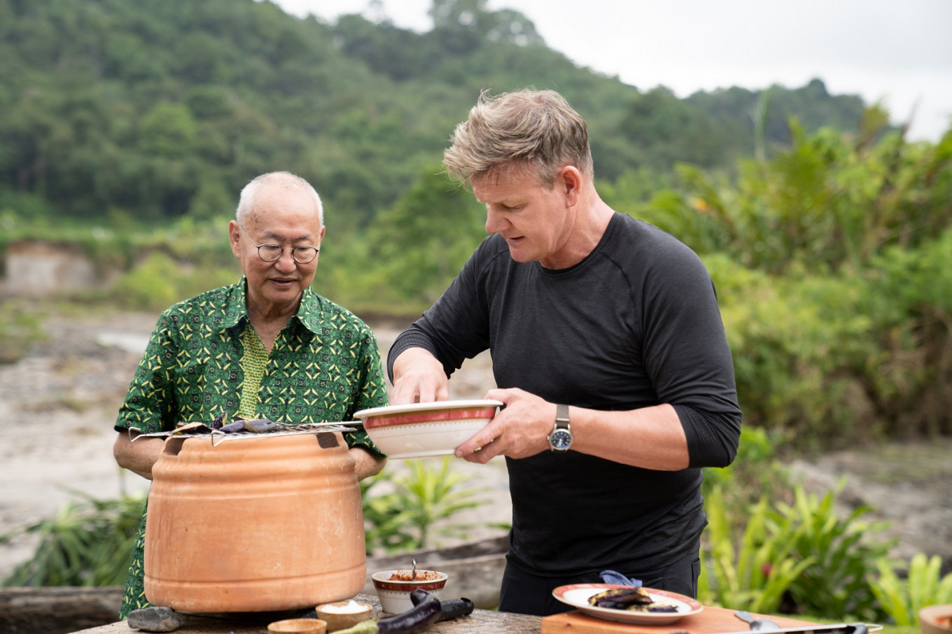 Gordon Ramsay 'can't wait' to put beef 'rendang' on his restaurant's menu