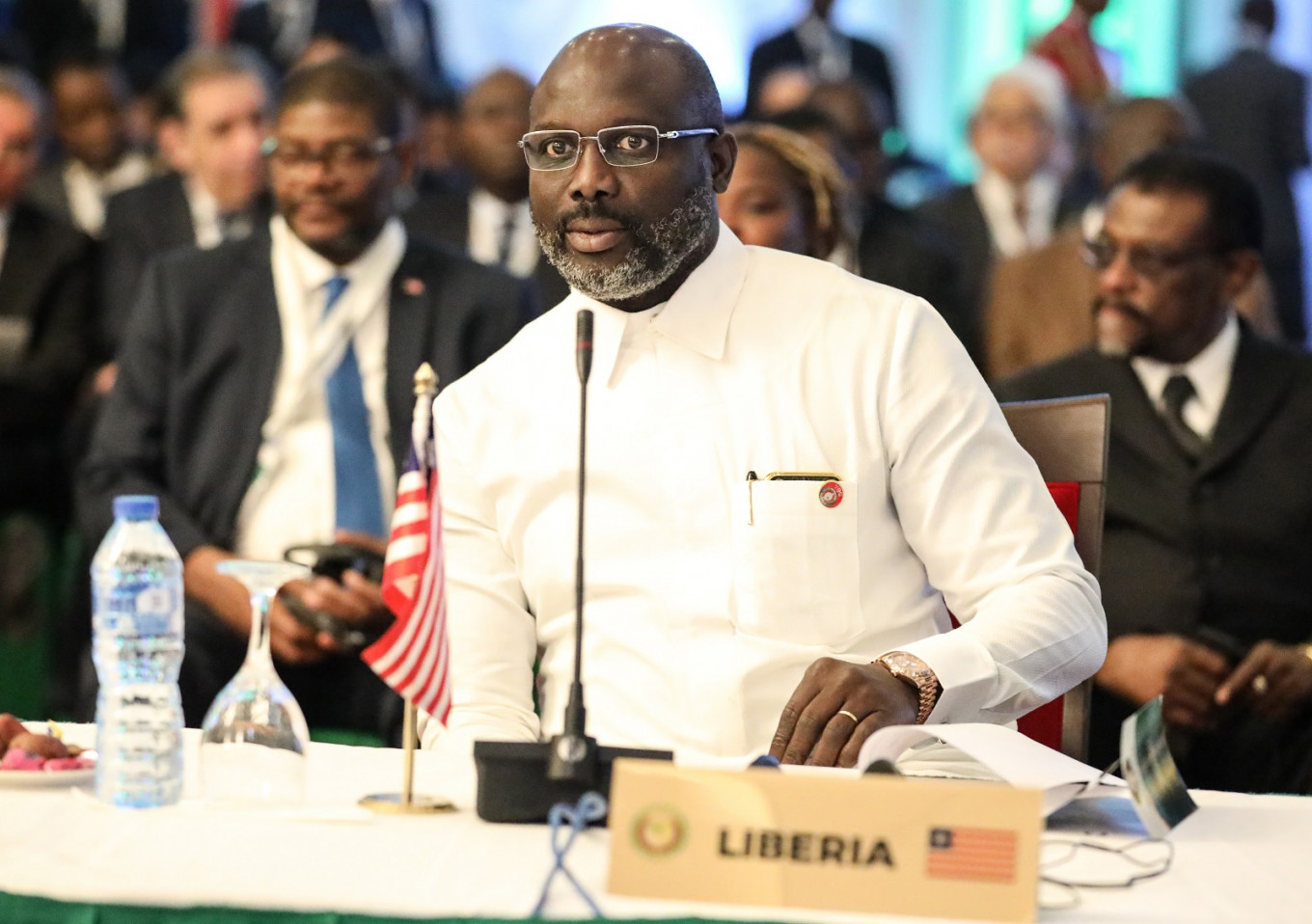 Un To Use Liberian President Weah S Covid 19 Awareness Song Health The Jakarta Post