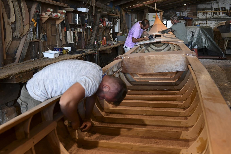 'Dark days' for Venice gondola makers