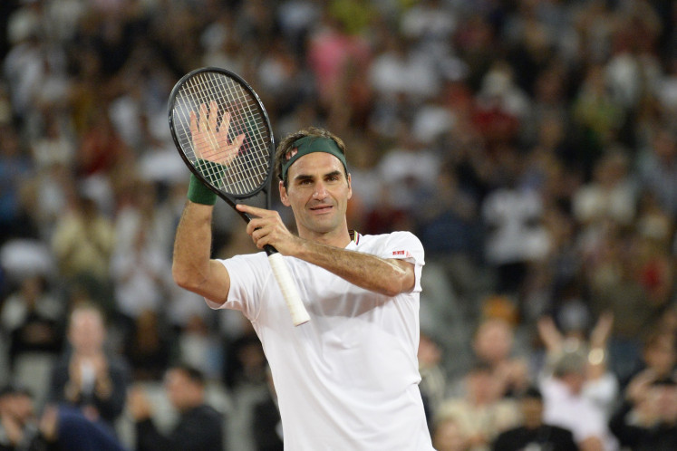 Federer tops list of world's highest-paid athletes