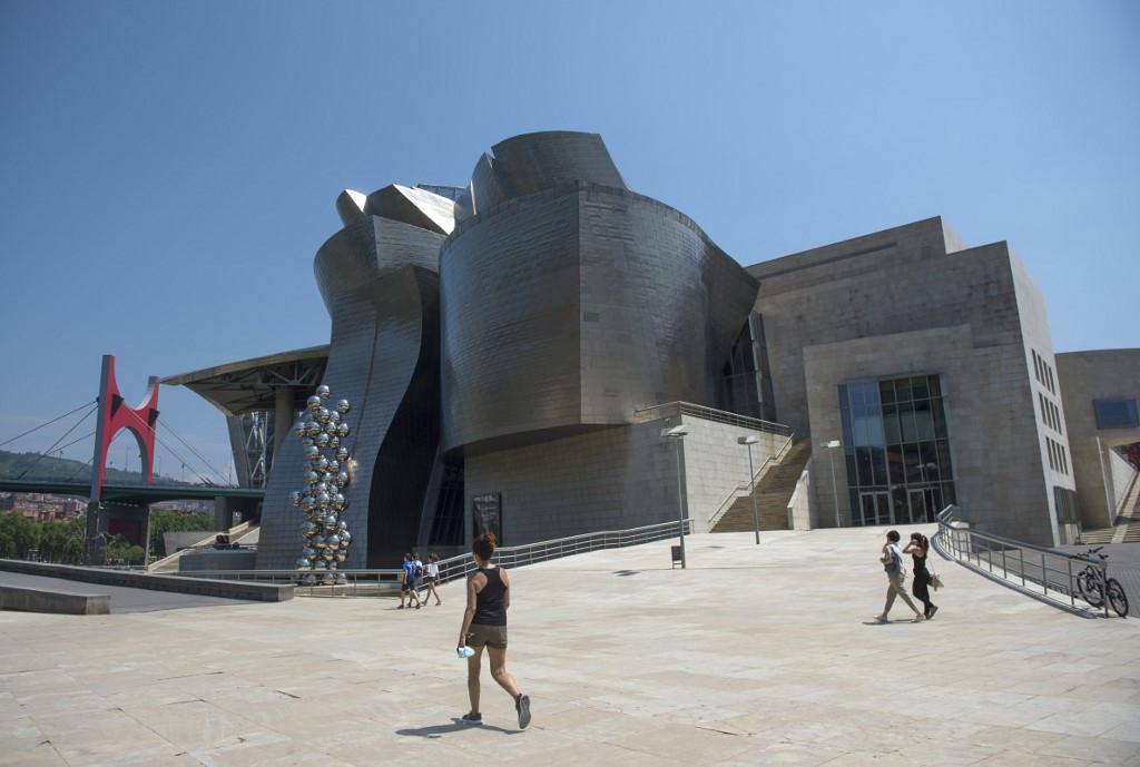 Bilbao's Guggenheim is Spain's first big museum to reopen