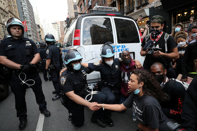 New York City police disband rough street unit amid pressure for reform