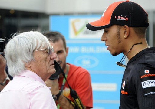 Hamilton right to speak out on racial injustice, says Ecclestone