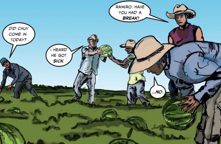 Move over Marvel: Migrant workers star as superheroes in Latino comic book