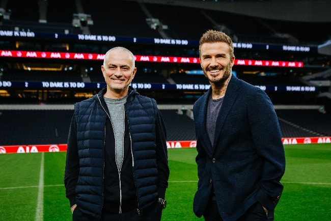 AIA, Beckham and Spurs team up for mental health awareness drive