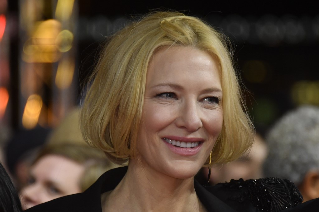 Cate Blanchett Cut Her Head in a Chainsaw-Related Accident