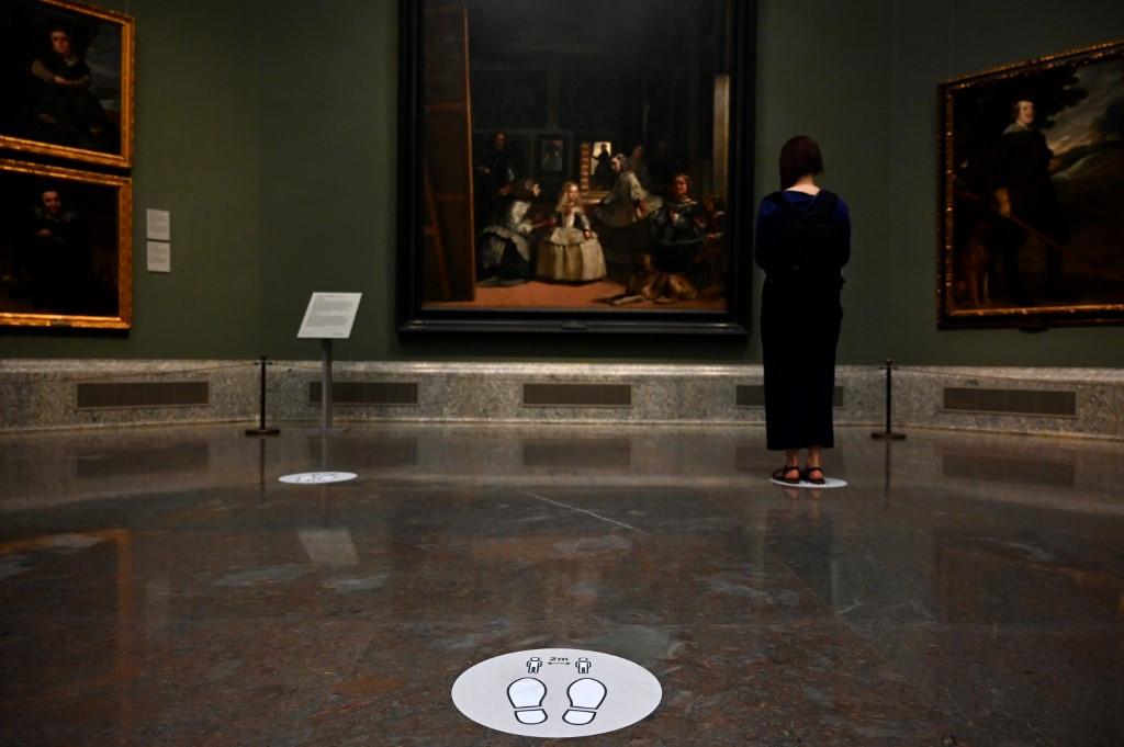 A near-private encounter with 'Las Meninas' as Madrid's Prado reopens