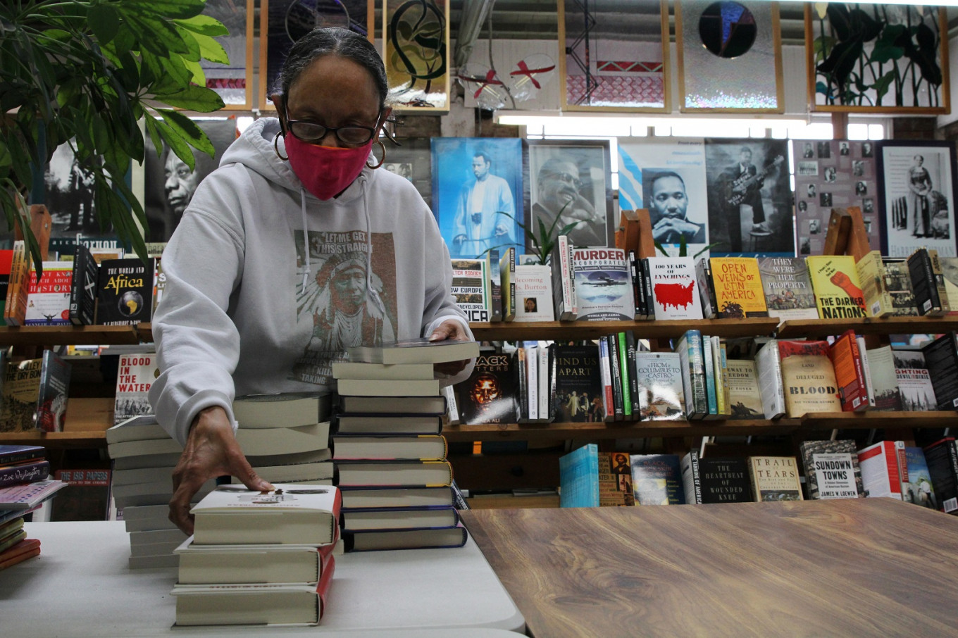 Historic Oakland black book store sells out of books on racial discrimination